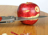 水果搞怪图片之叫你削我