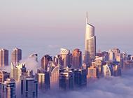 迪拜城市风光高清图片