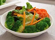 简单的时令蔬菜拼盘图片