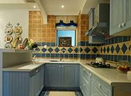 异域风情的复式地中海厨房效果图