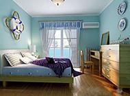 小清新地中海卧室装修效果图