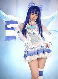 白皙天使cosplay美女图片