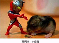 奥特曼打老鼠恶搞图片素材