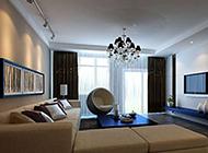 8种大户型现代简约客厅装修效果图