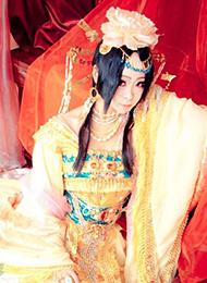 性感美女古装cosplay图片