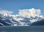 阿拉斯加冰山风景图片壁纸