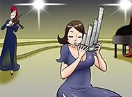韩国成人漫画之乐器演奏
