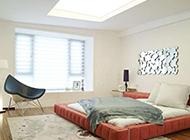 北欧清新简约的卧室装修效果图