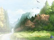意境超唯美的动漫风景壁纸赏析