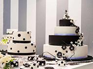 简单的多层婚庆蛋糕图片