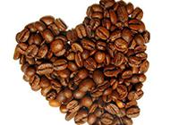 心形咖啡豆图片素材