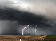 超震撼的打雷闪电摄影图片