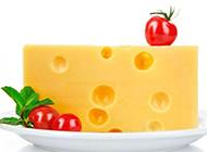 美味的新鲜奶酪食材高清图片