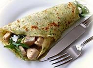 美味营养的蔬菜鸡肉饼图片