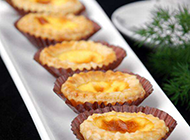 烤箱自制乳酪蛋挞图片