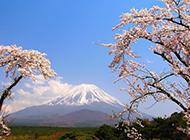 日本富士山风景电脑壁纸