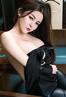 极品宅男女神童安琪黑皮衣性感撩人写真