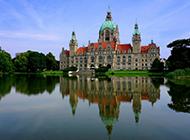 德国市政厅城堡建筑风景壁纸