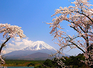 日本富士山唯美风景壁纸