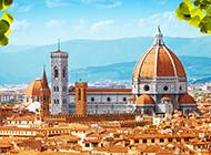壮观的欧洲古典宫殿建筑风景壁纸