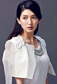 中国女明星江疏影靓丽写