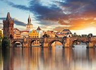 壮观迷人的欧洲古典城堡建筑风景图片