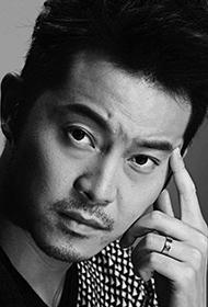 中国男明星沙溢时尚黑白