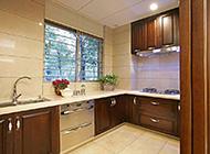 大户型敞开式厨房现代风格装修图