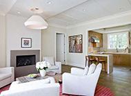 大户型新房客厅简约设计实景图