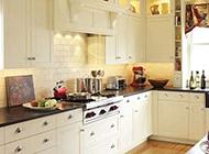 时尚精致的厨房混搭装修实景图