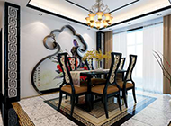 典雅精美中式餐厅设计效