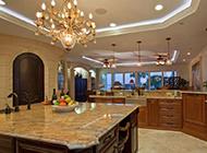 大户型新中式厨房设计古典时尚并存