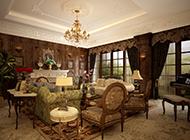 别墅华丽欧式客厅设计效