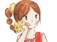超萌手绘卡通情侣头像图片