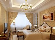 高档欧式卧室装修样板房图片