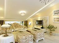 现代田园客厅设计风格温