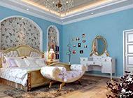 很有格调的地中海卧室装修效果图