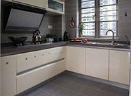 明亮整洁的厨房简约设计效果图
