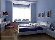 简约温馨卧室现代设计效果图