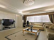 复古欧式豪华客厅吊顶效果图