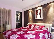 干净利落的浪漫卧室装修效果图