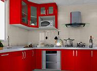 明亮宽敞的厨房简约设计效果图
