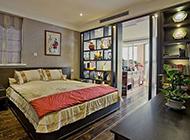 复式套房中式卧室装修图典雅时尚