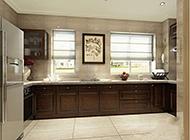 欧式个性整洁厨房装修设计