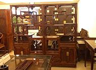 中式新古典博古架装饰图片