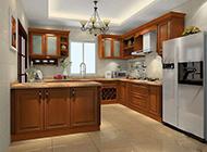 现代风格厨房装修图优雅清新