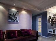 80平方现代简约公寓装修效果图