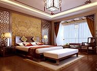 复式套房新中式卧室设计