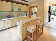 别墅开放式厨房装修效果图