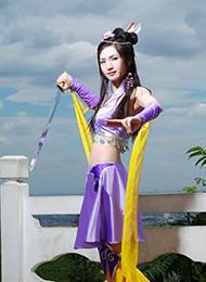 超清纯的古装cosplay美女图片